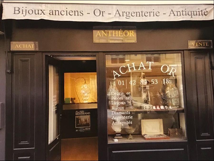 achat vente bijoux magasin sur paris